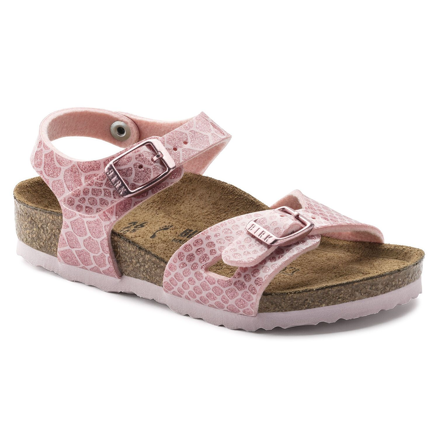 Birkenstock Rio Kids BF Magic Snake Rose Narrow EN