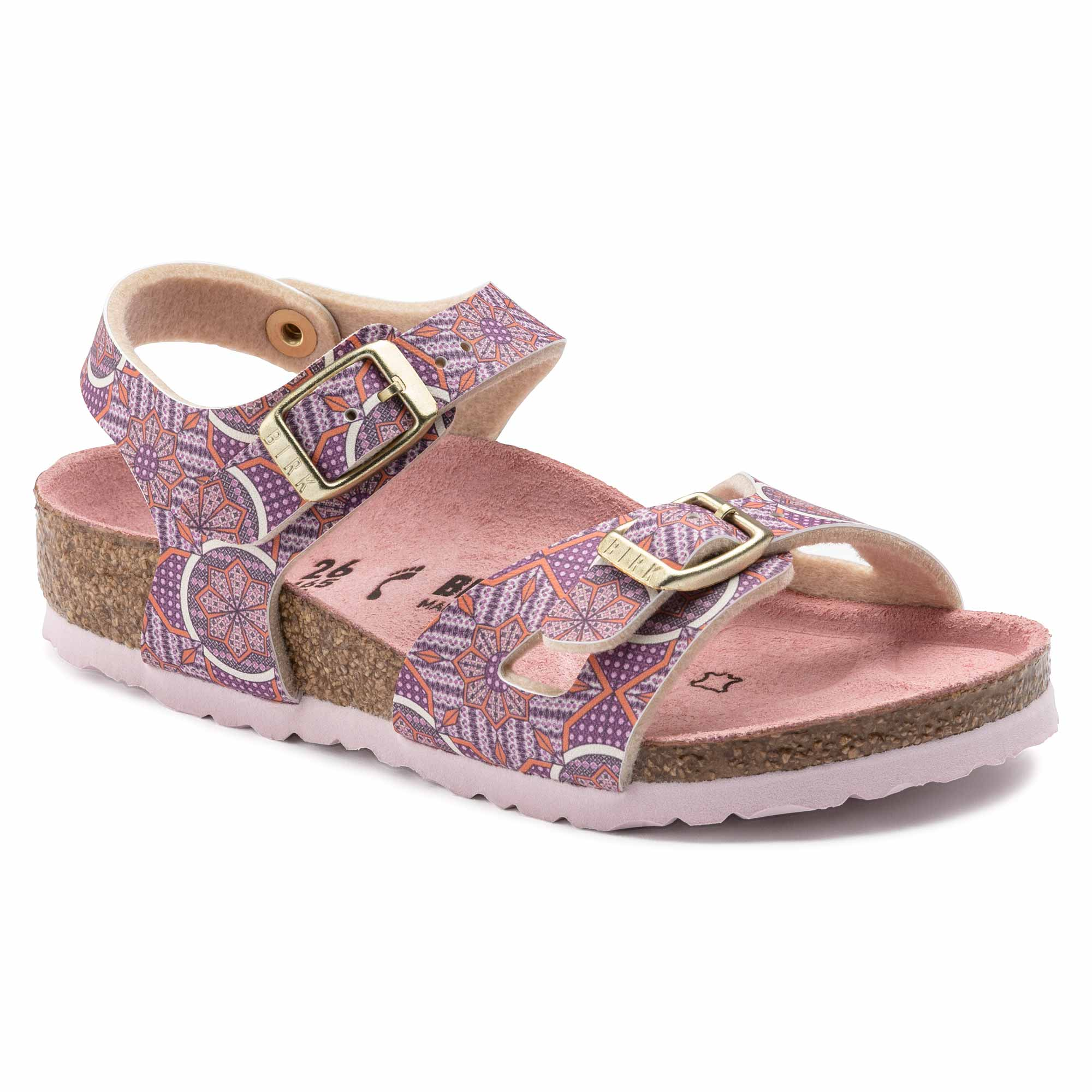 Birkenstock Rio Kids BF Oriental Tiles Rose Narrow EN