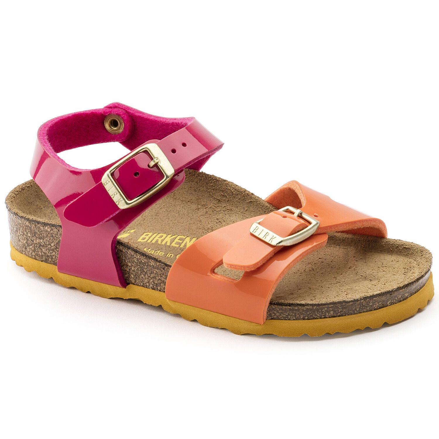 Birkenstock Rio Kids BF Tropical Orange Pink Narrow EN