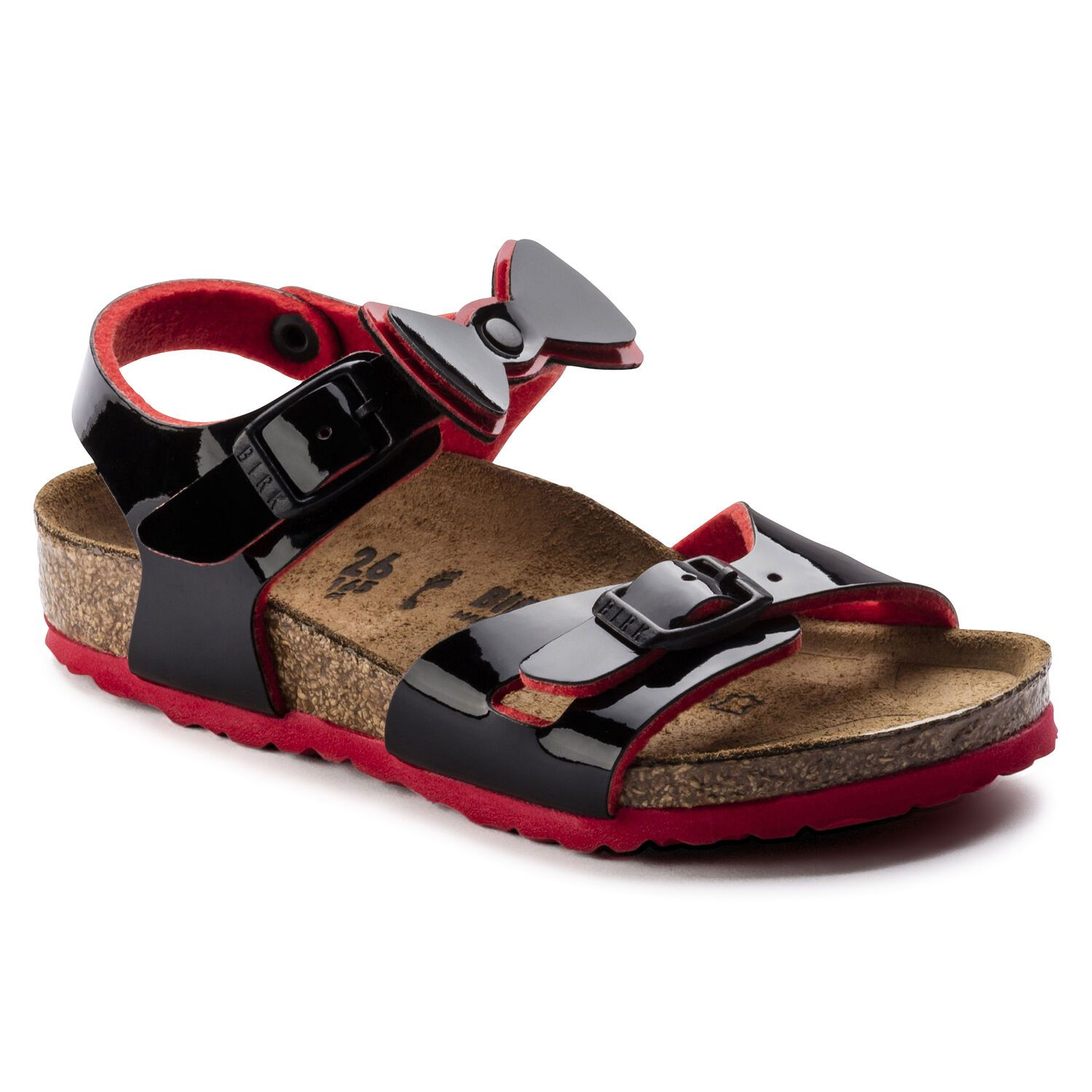 Birkenstock Rio Kids BF Two Tone Black Ribbon Narrow EN