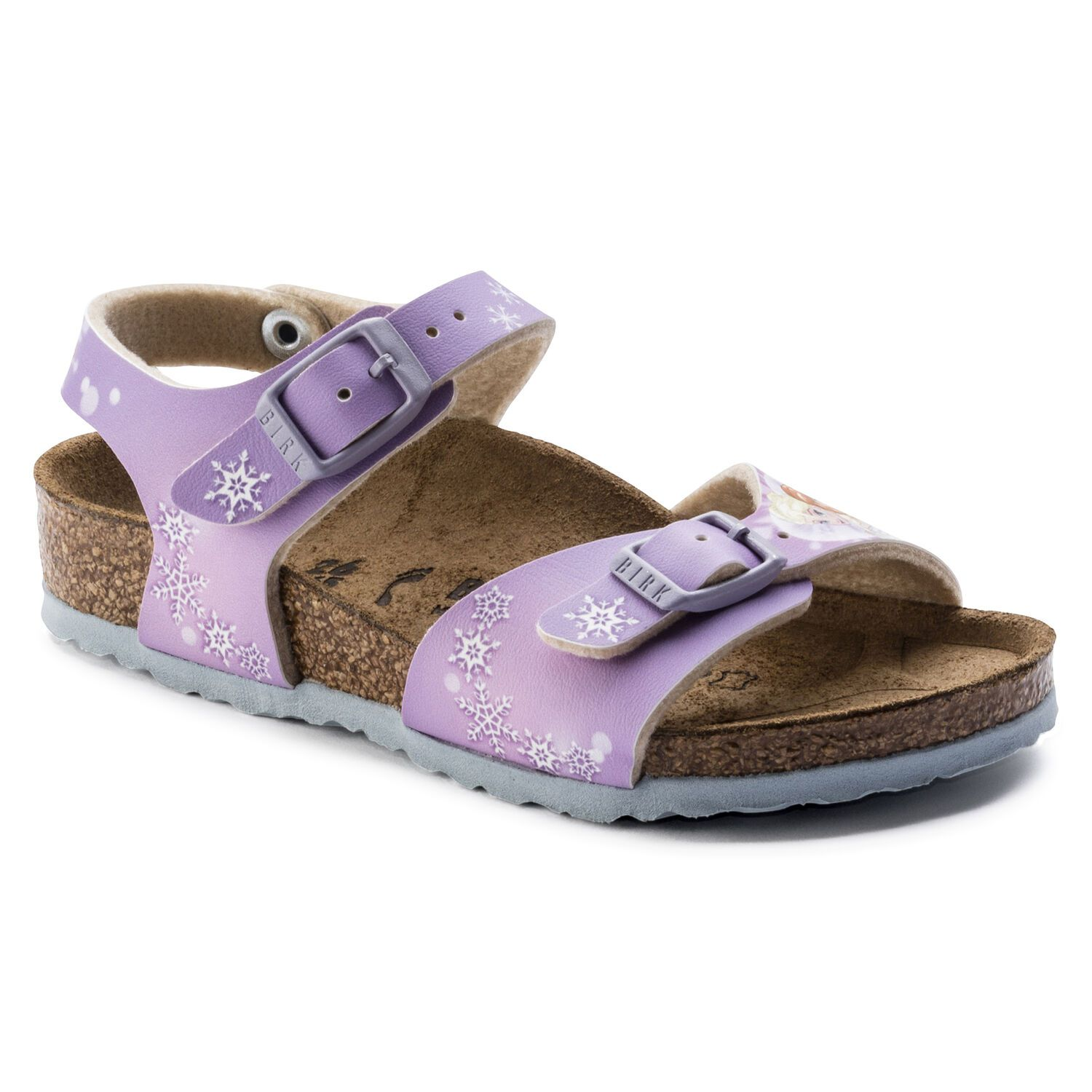 Birkenstock Rio Plain BF DD Frozen Winter Dream Lilac Narrow EN