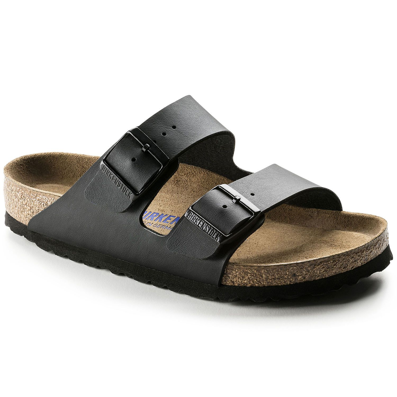 Birkenstock Sandália Arizona BF Soft Footbed Regular Preto