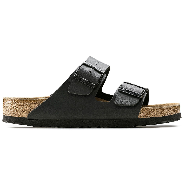 Birkenstock Sandália Arizona BF Soft Footbed Regular Preto