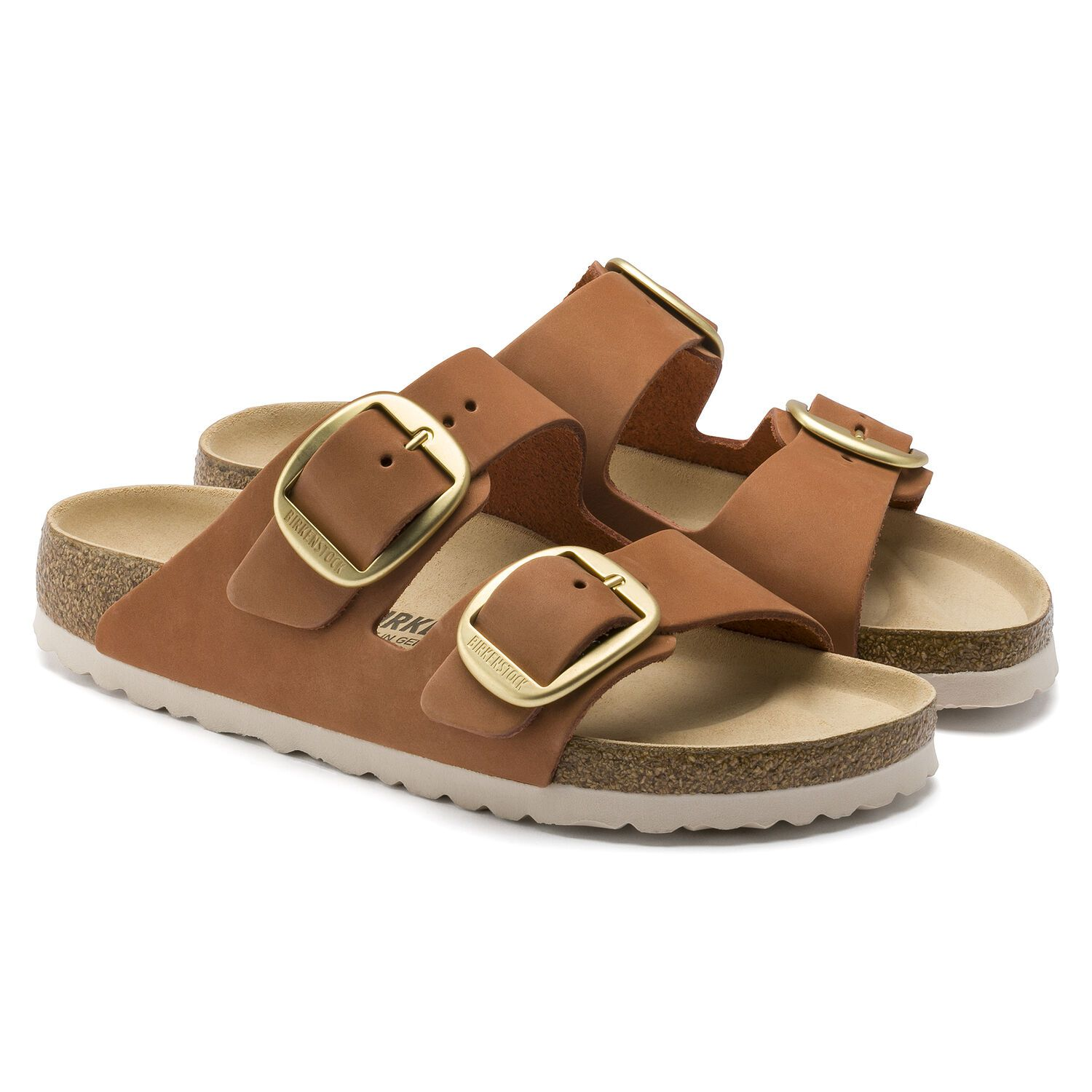 Birkenstock Sandália Arizona Big Buckle Nu Brandy Narrow