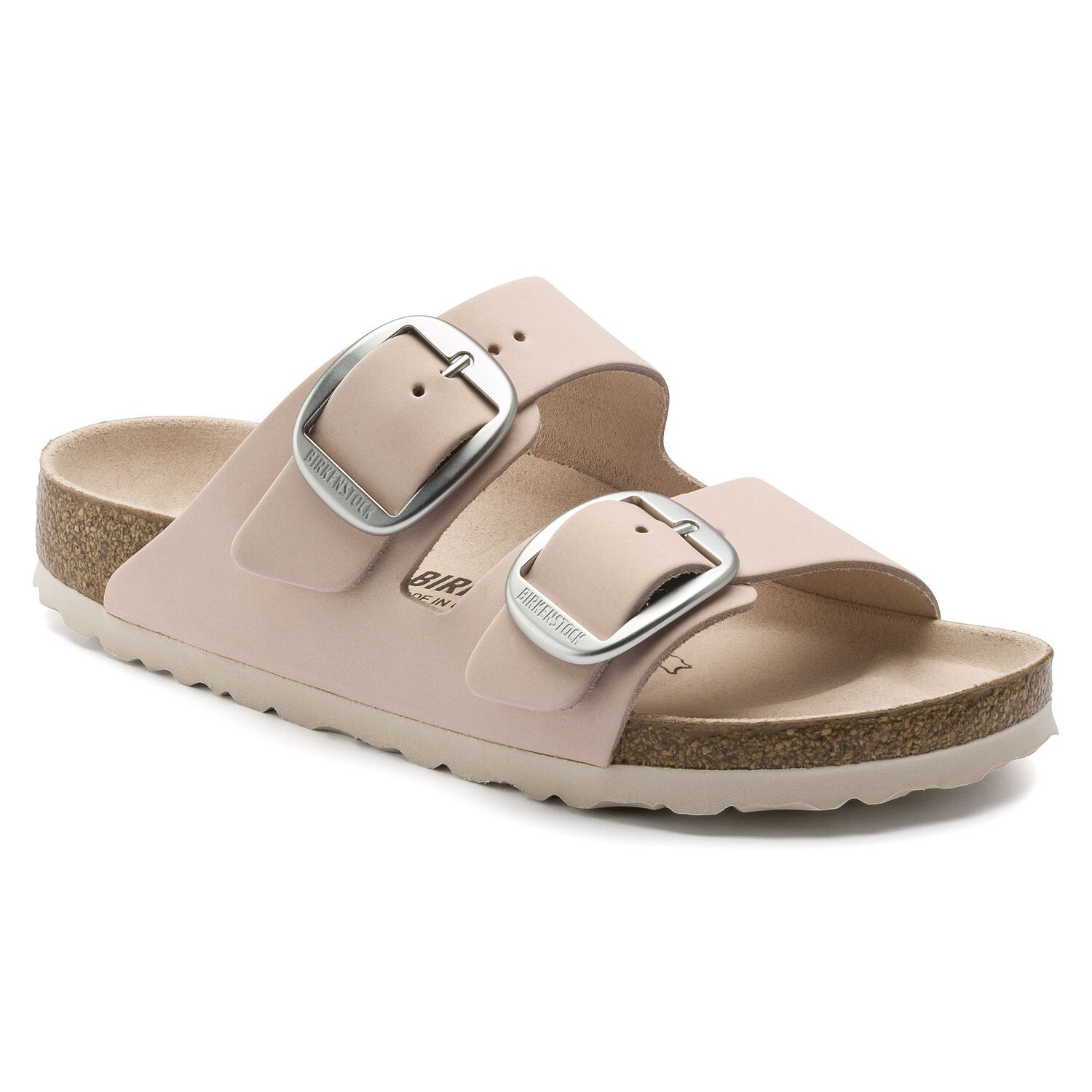 Birkenstock Sandália Arizona Big Buckle Nu Light Rose Narrow