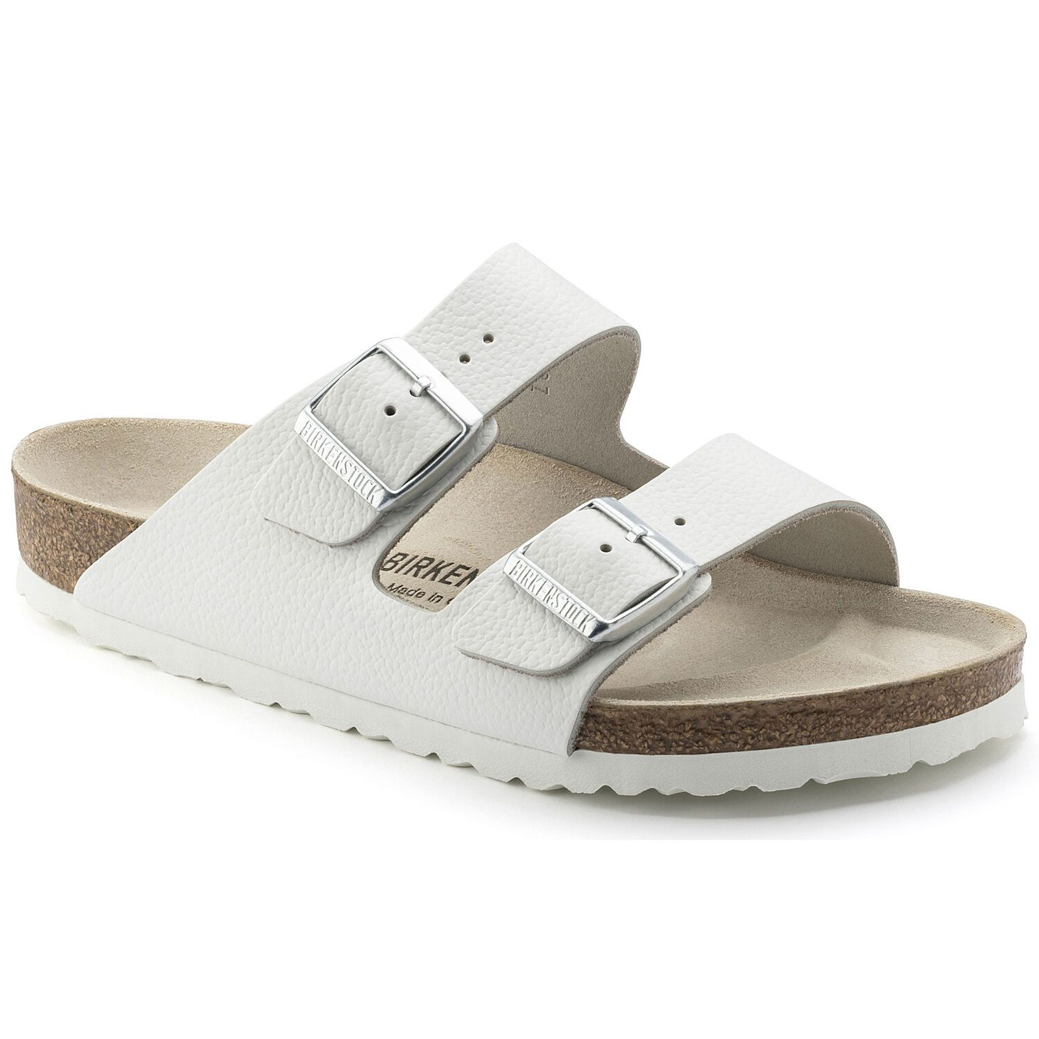 Birkenstock Sandália Arizona Nl White Narrow EN