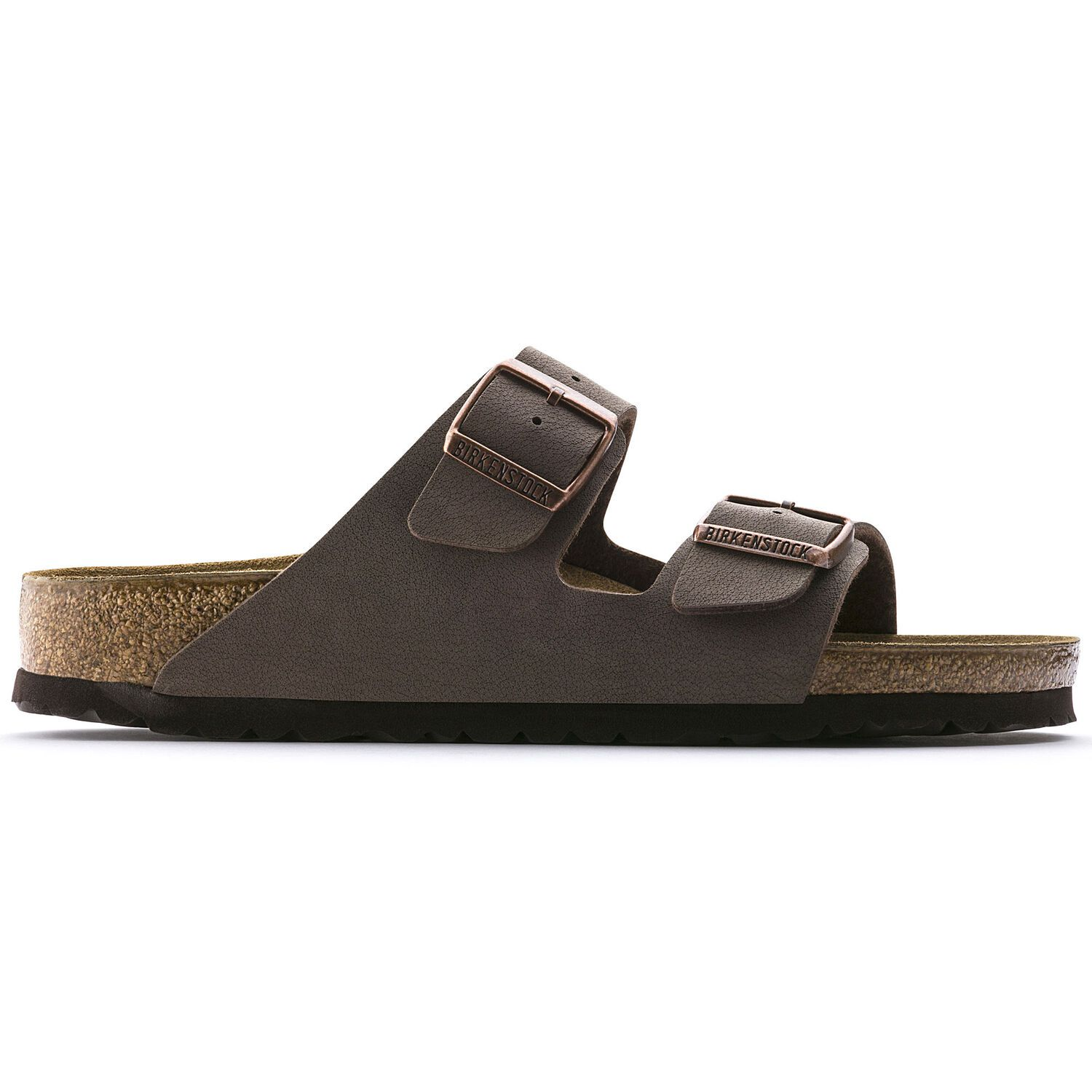 Birkenstock Sandália Arizona Nobuck Birkibuc Regular Marrom