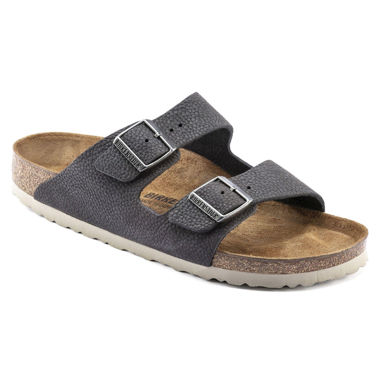 Birkenstock Sandália Arizona Nu Steer Soft Gray Regular