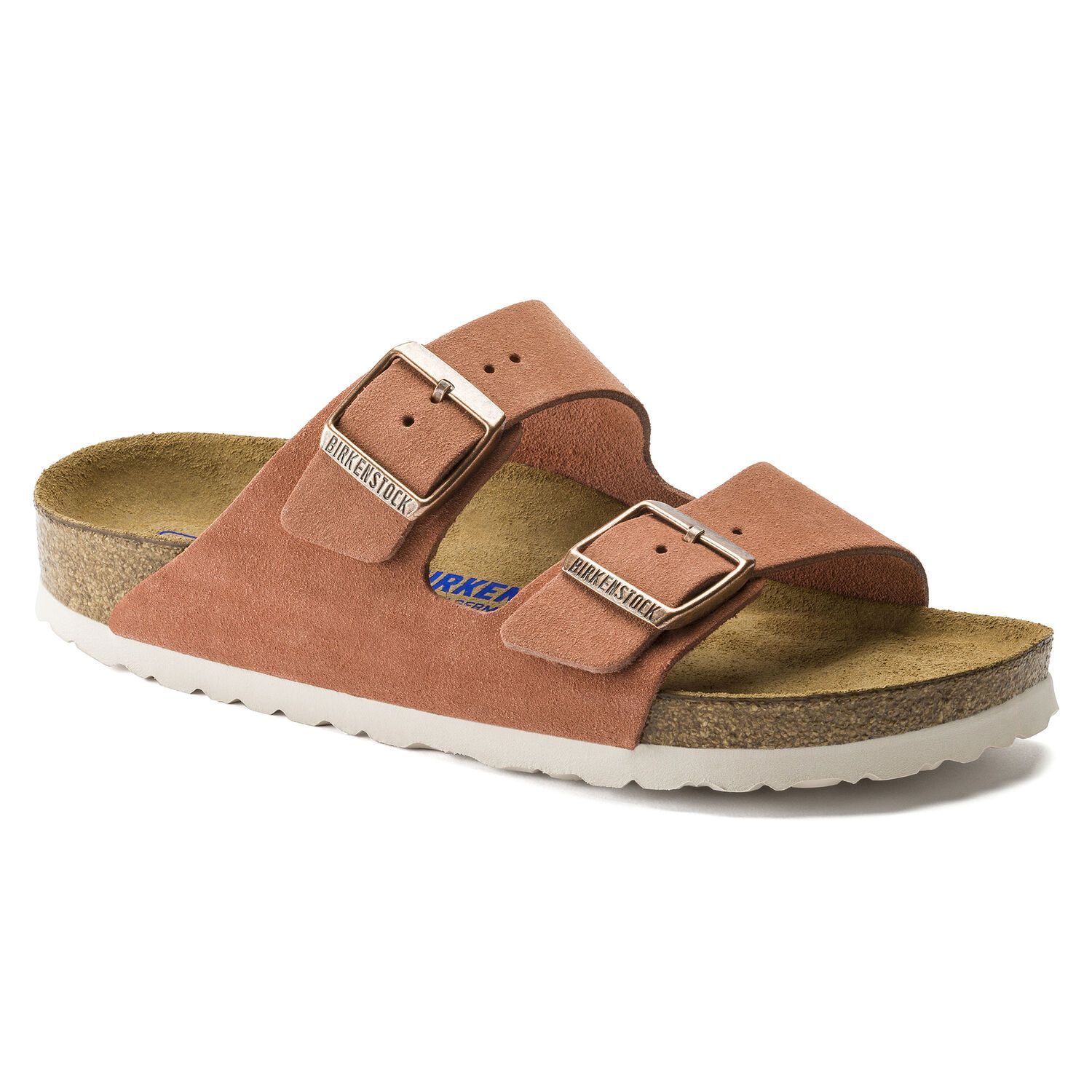 Birkenstock Sandália Arizona Sfb Vl Earth Red Narrow