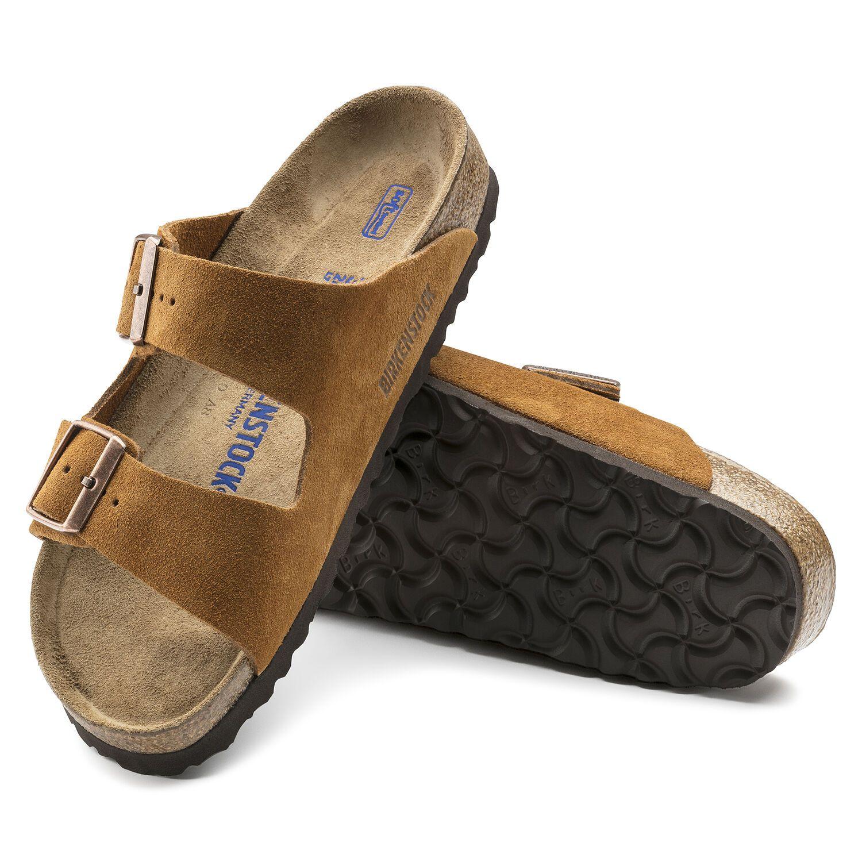 Birkenstock Sandália Arizona Sfb Vl Mink Narrow