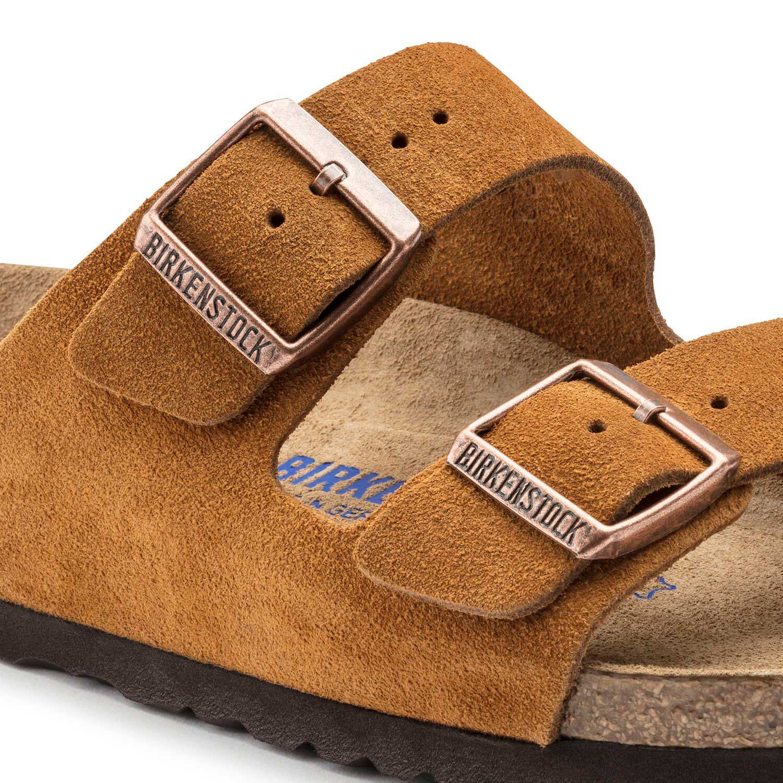 Birkenstock Sandália Arizona Sfb Vl Mink Regular