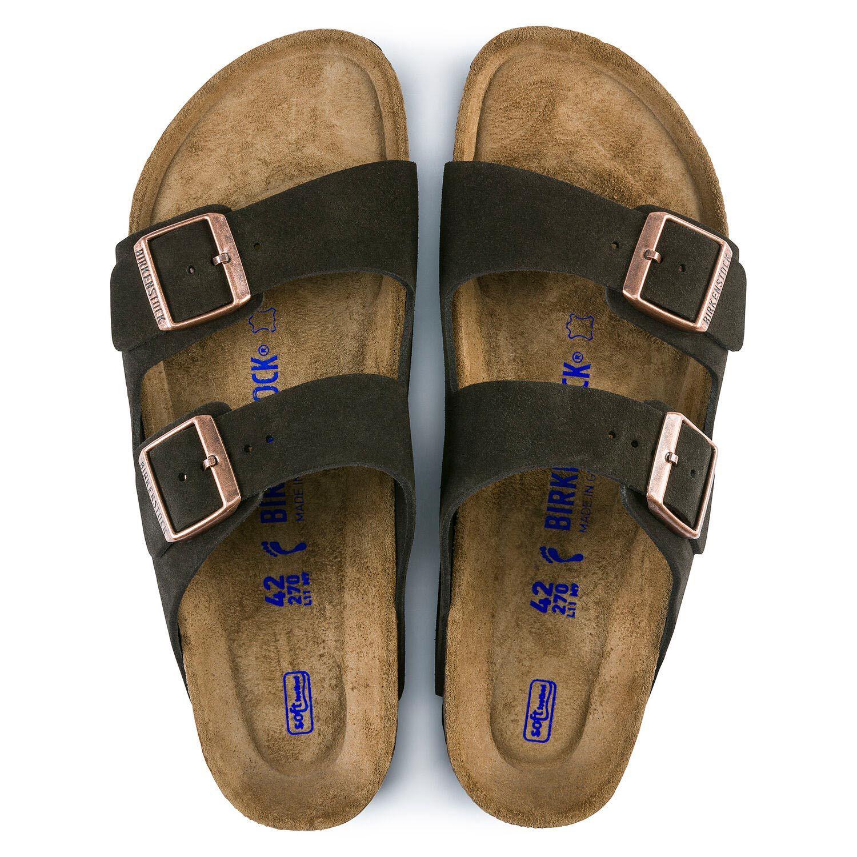 Birkenstock Sandália Arizona Sfb Vl Mocha Regular
