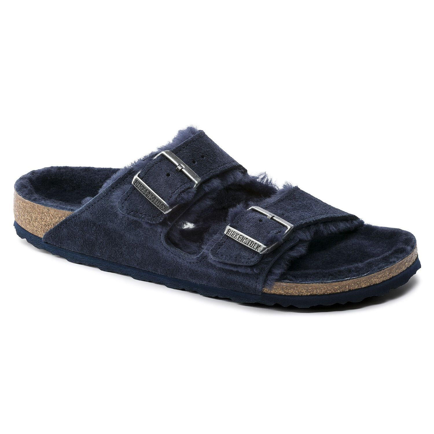 Birkenstock Sandália Arizona Vl Night Lammfell Narrow EN