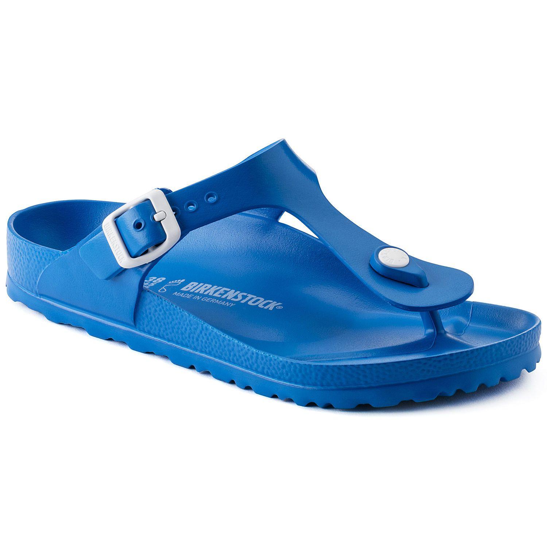 Birkenstock Sandália Gizeh EVA Regular Azul EN