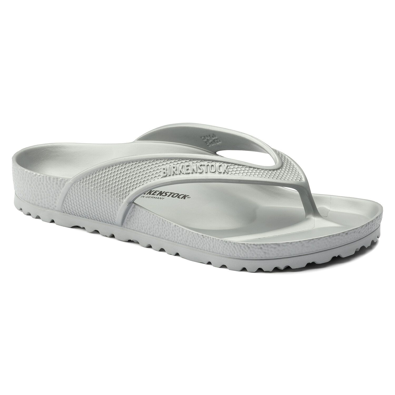 Birkenstock Sandália Honolulu Eva Metallic Silver Regular EN