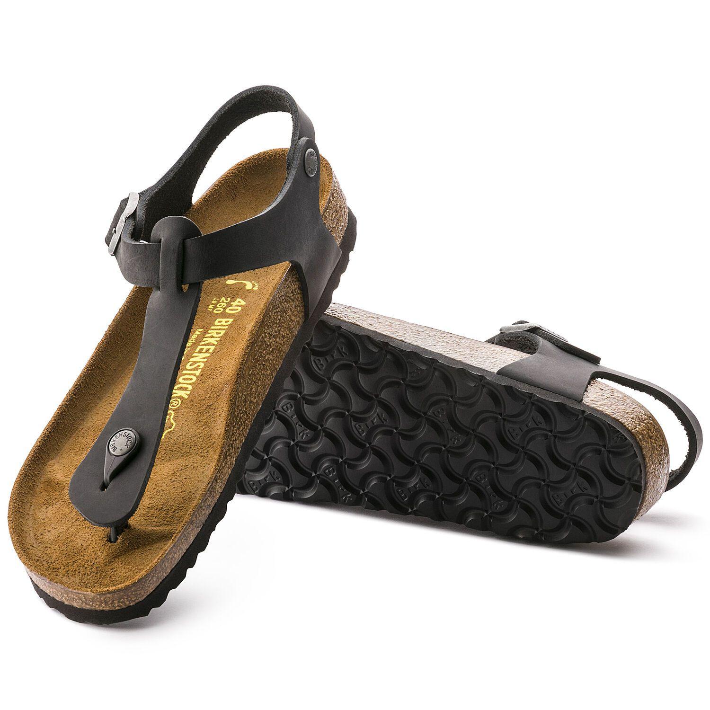 Birkenstock Sandália Kairo Nu Oiled Black Regular