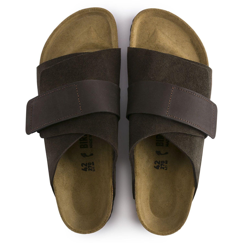 Birkenstock Sandália Kyoto Vl Mocha Regular