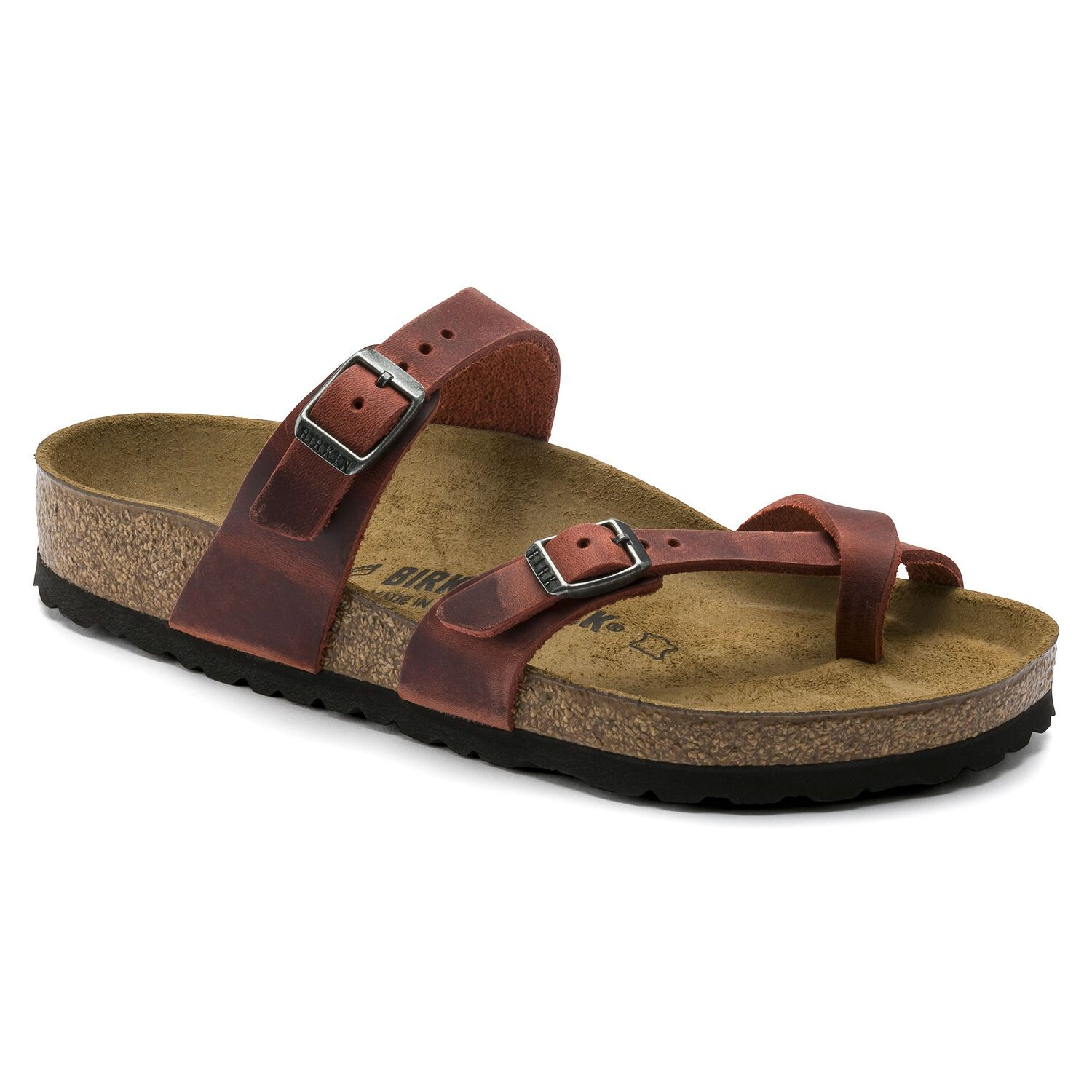 Birkenstock Sandália Mayari Leoi Earth Red Regular