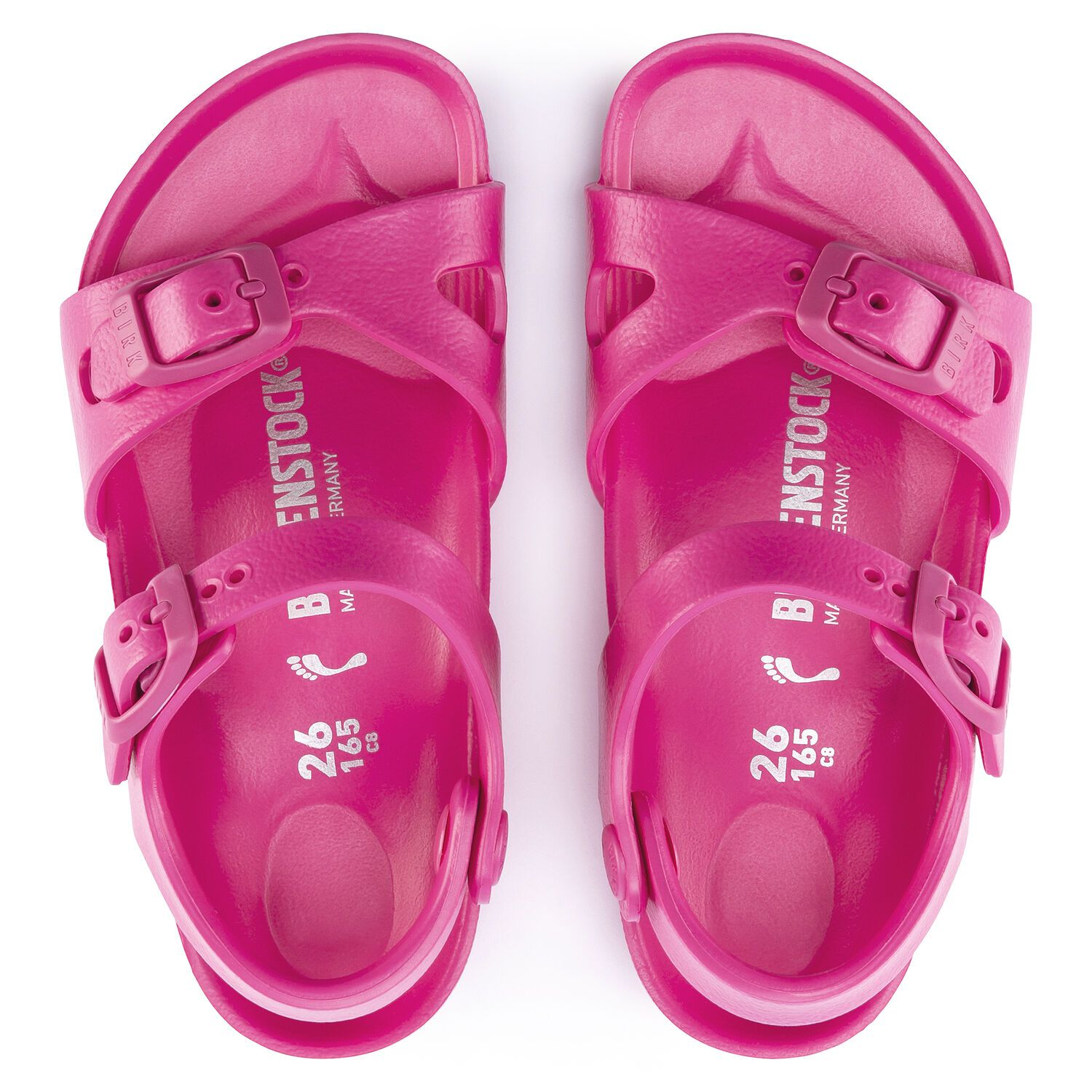 Birkenstock Sandália Rio Kids Eva Beetroot Purple Narrow
