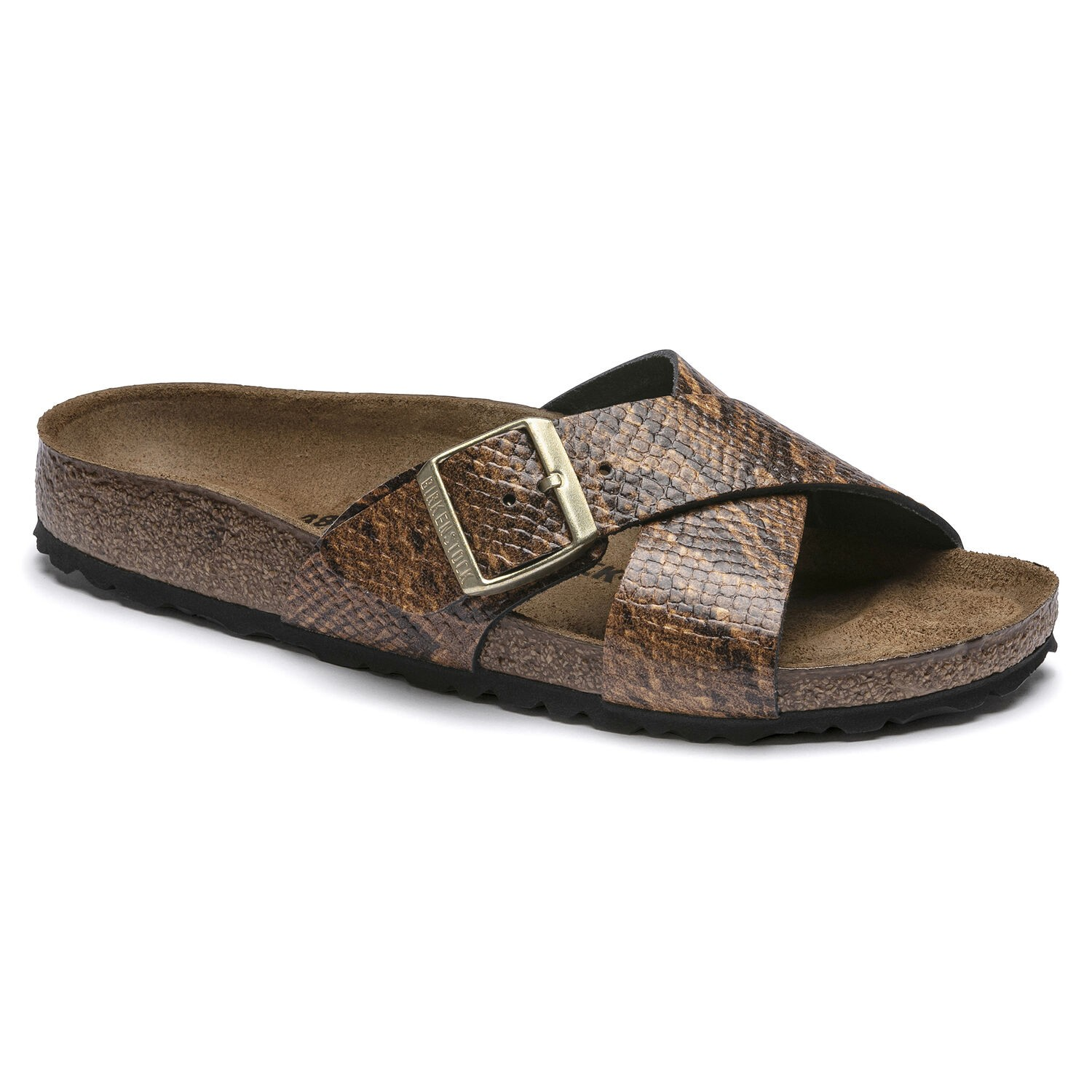 Birkenstock Siena NL Snake Brown Narrow