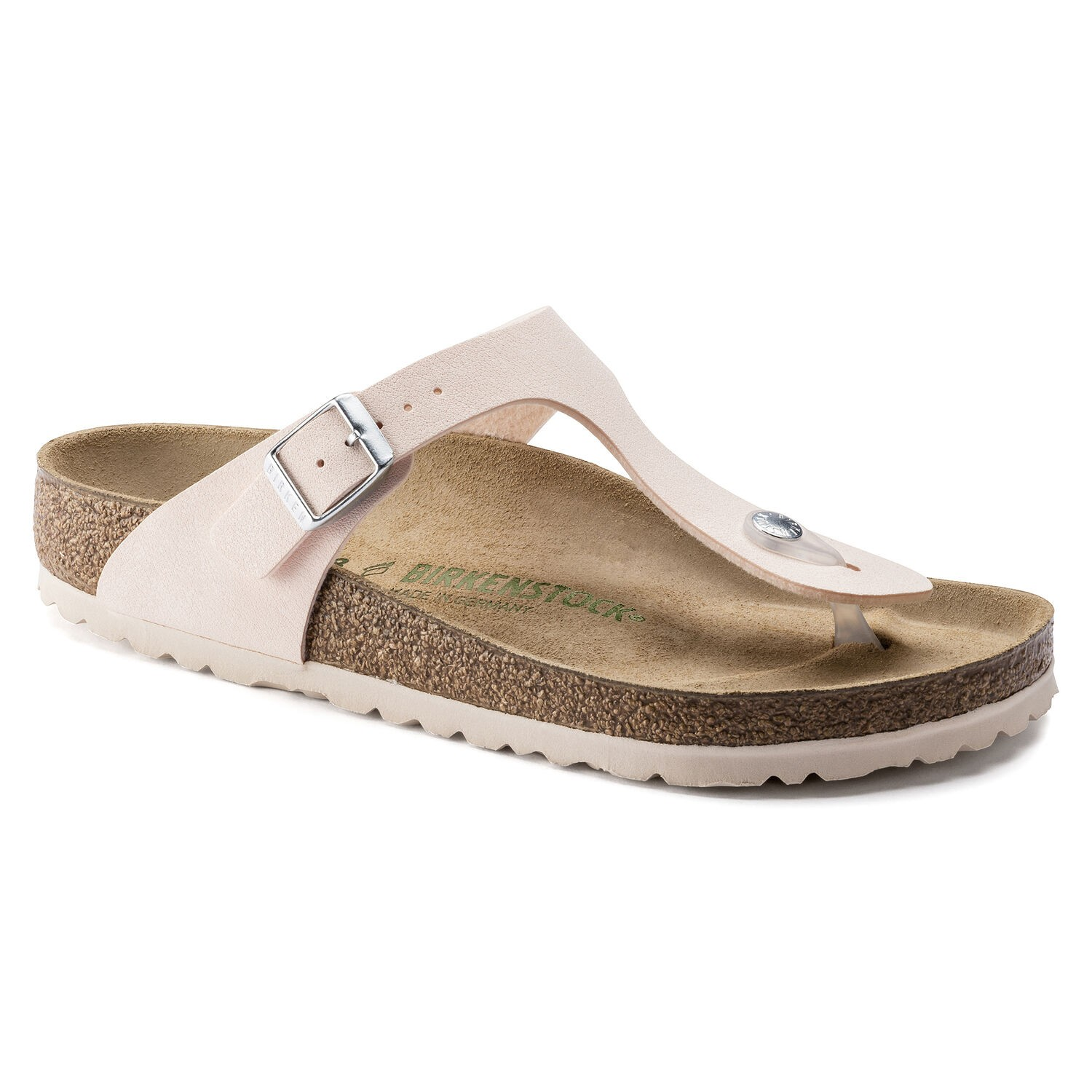 Birkenstock Gizeh Brushed Light Rose Vegano Regular