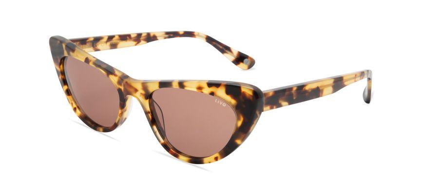 Livo Eyewear Alice Solar Demi Amarelo