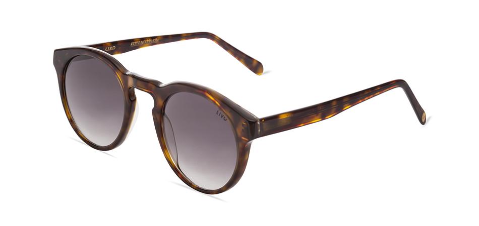 Livo Eyewear John Solar Demi Clássico Amarelo/Caramelo