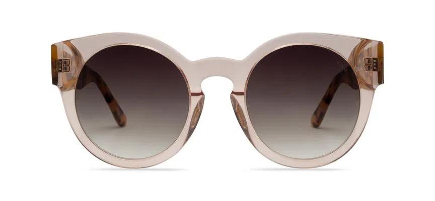 Livo Eyewear Leah Solar Nude Cristal + Demi Amarelo