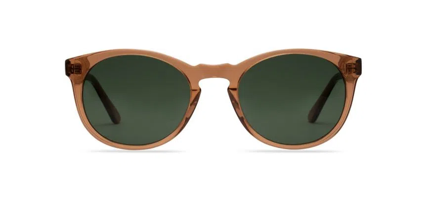 Livo Eyewear Miles Solar Marrom Cristal