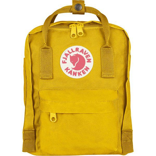 Mochila Fjällräven Kanken MINI Unissex Warm Yellow