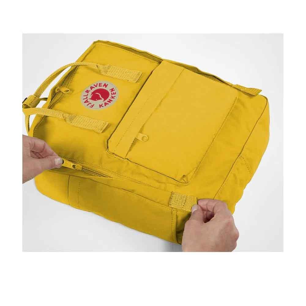 Mochila Fjällräven Kanken Mini Unissex Warm Yellow