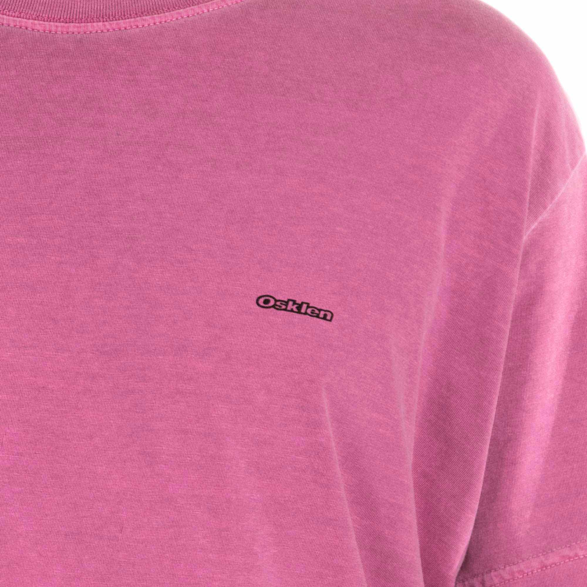 Osklen Camiseta Sonus Manga Curta Masculino Rosa