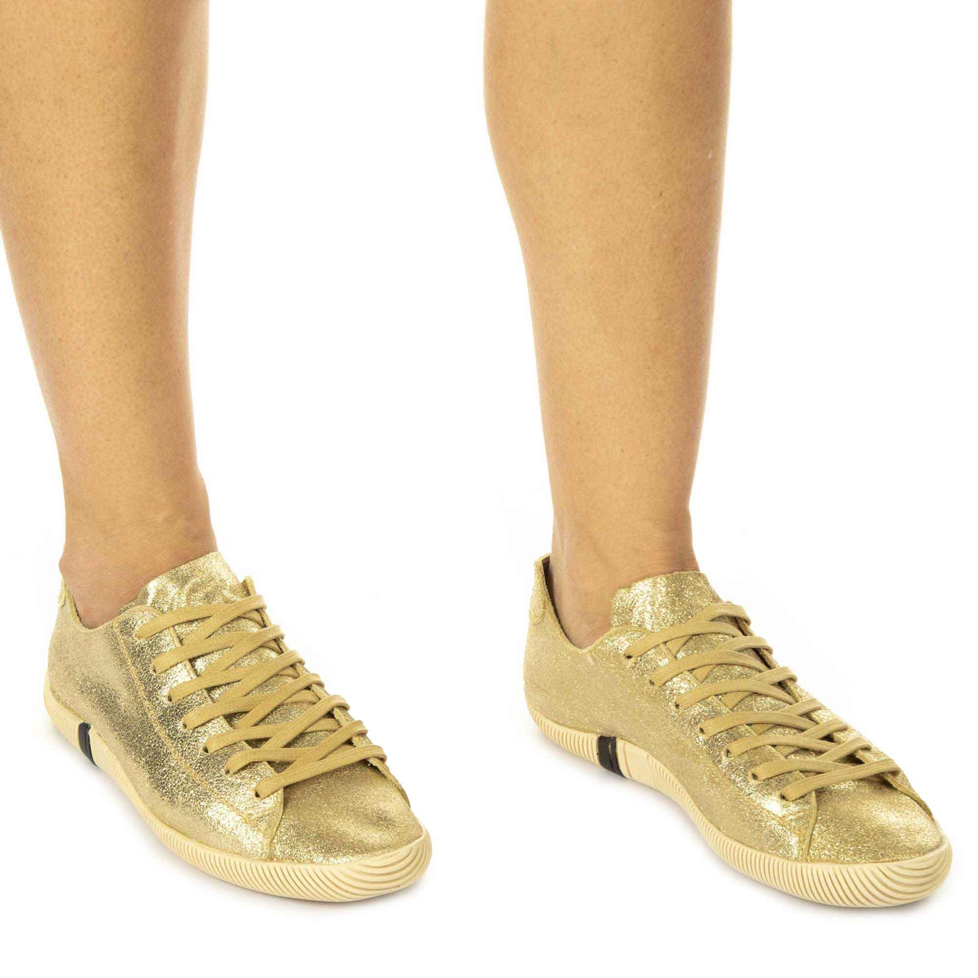 Osklen Sapatênis Arpoador Soft Feminino Ouro