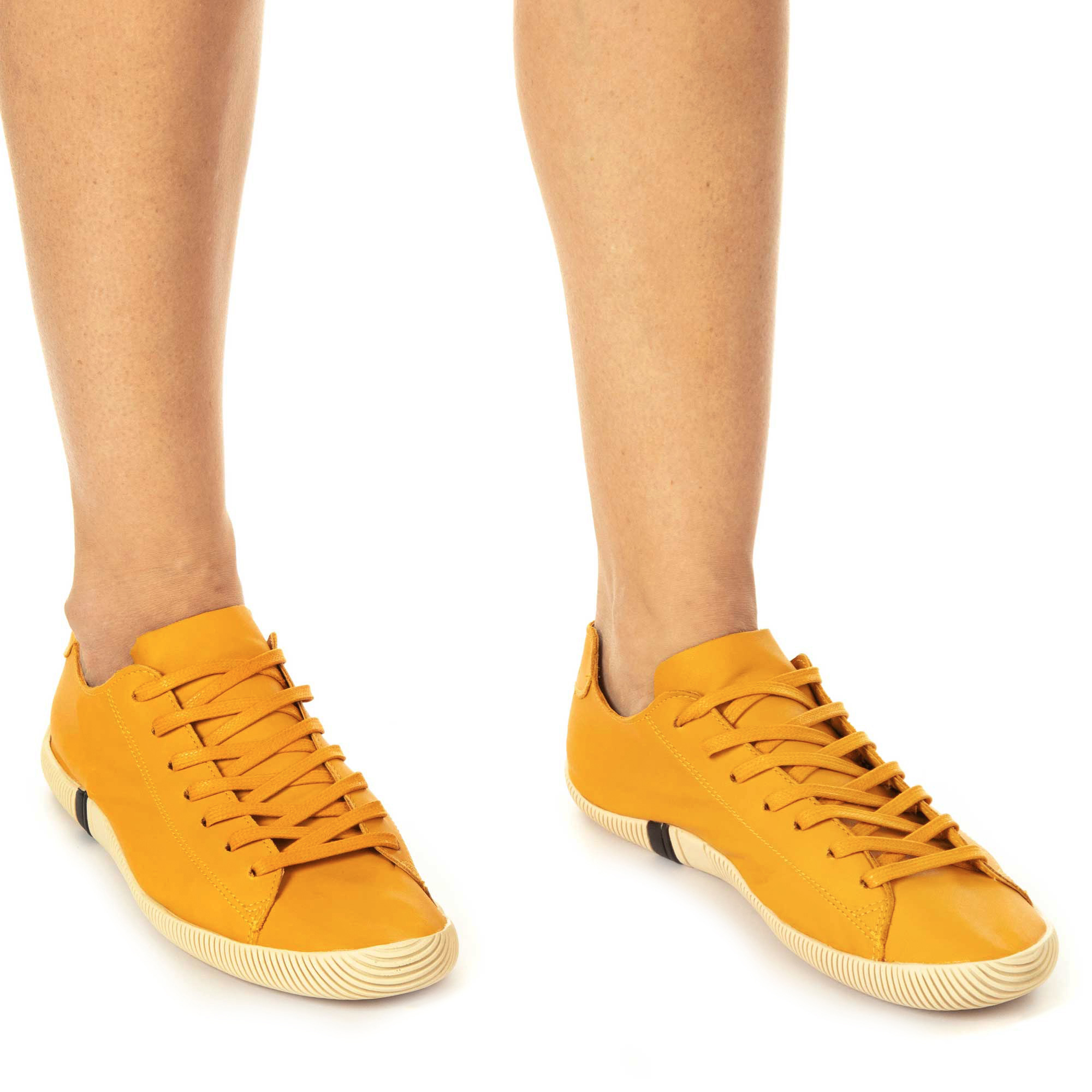 Osklen Sapatênis Soft Arpoador Feminino Amarelo