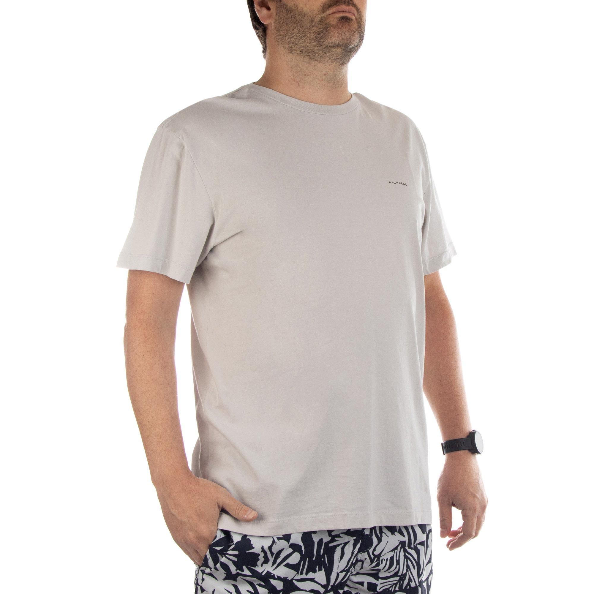 Richards Camiseta Manga Curta Masculino Areia