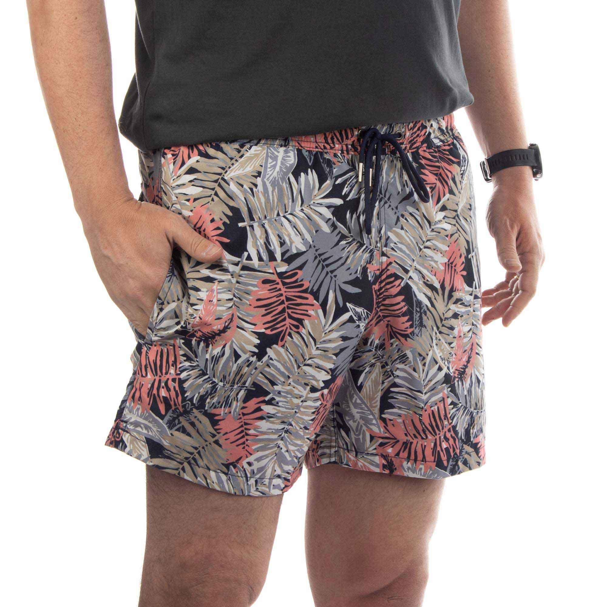 Richards Shorts Printed Beach Masculino Estampa Rabiscos