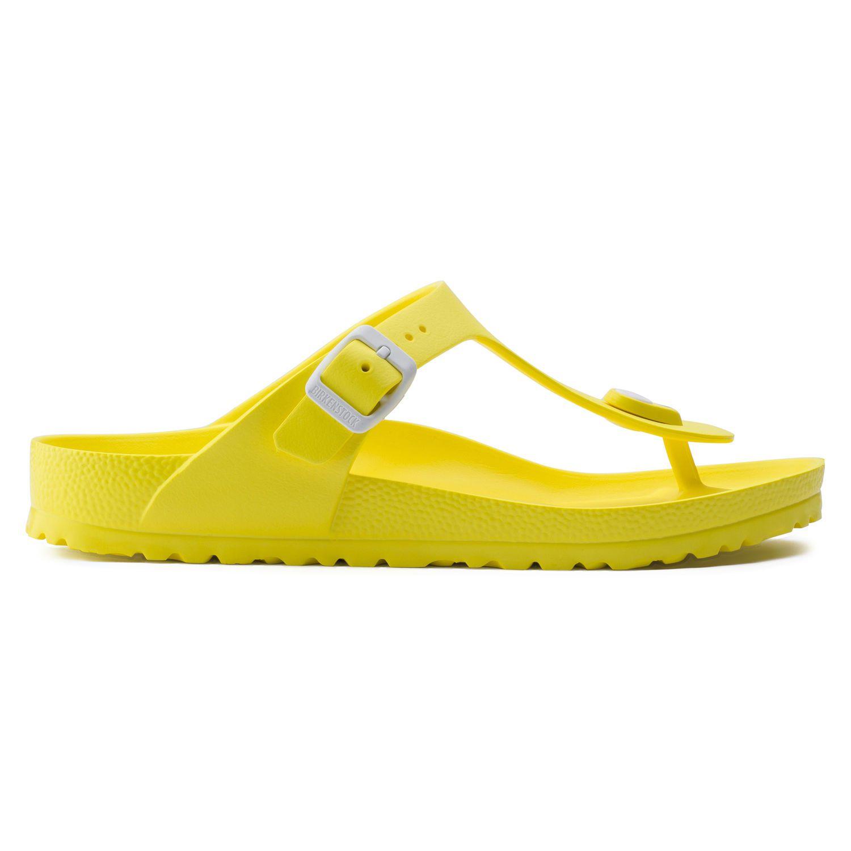 Birkenstock Sandália Gizeh EVA Regular Amarelo