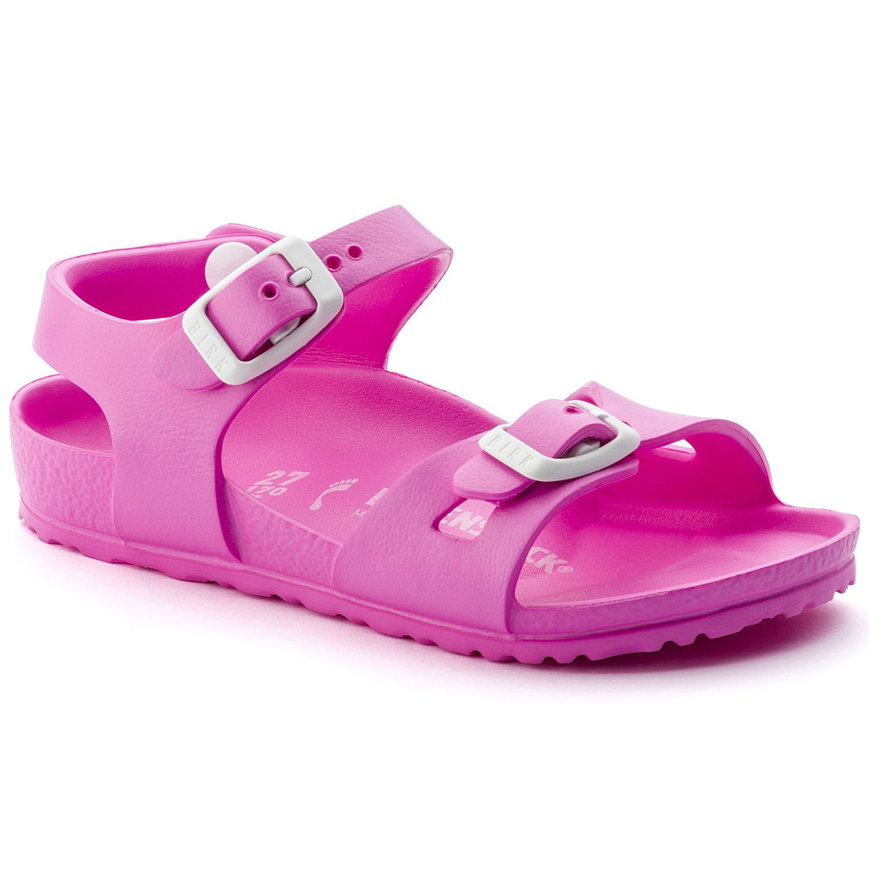 Birkenstock Sandália Rio Infantil EVA Narrow Pink