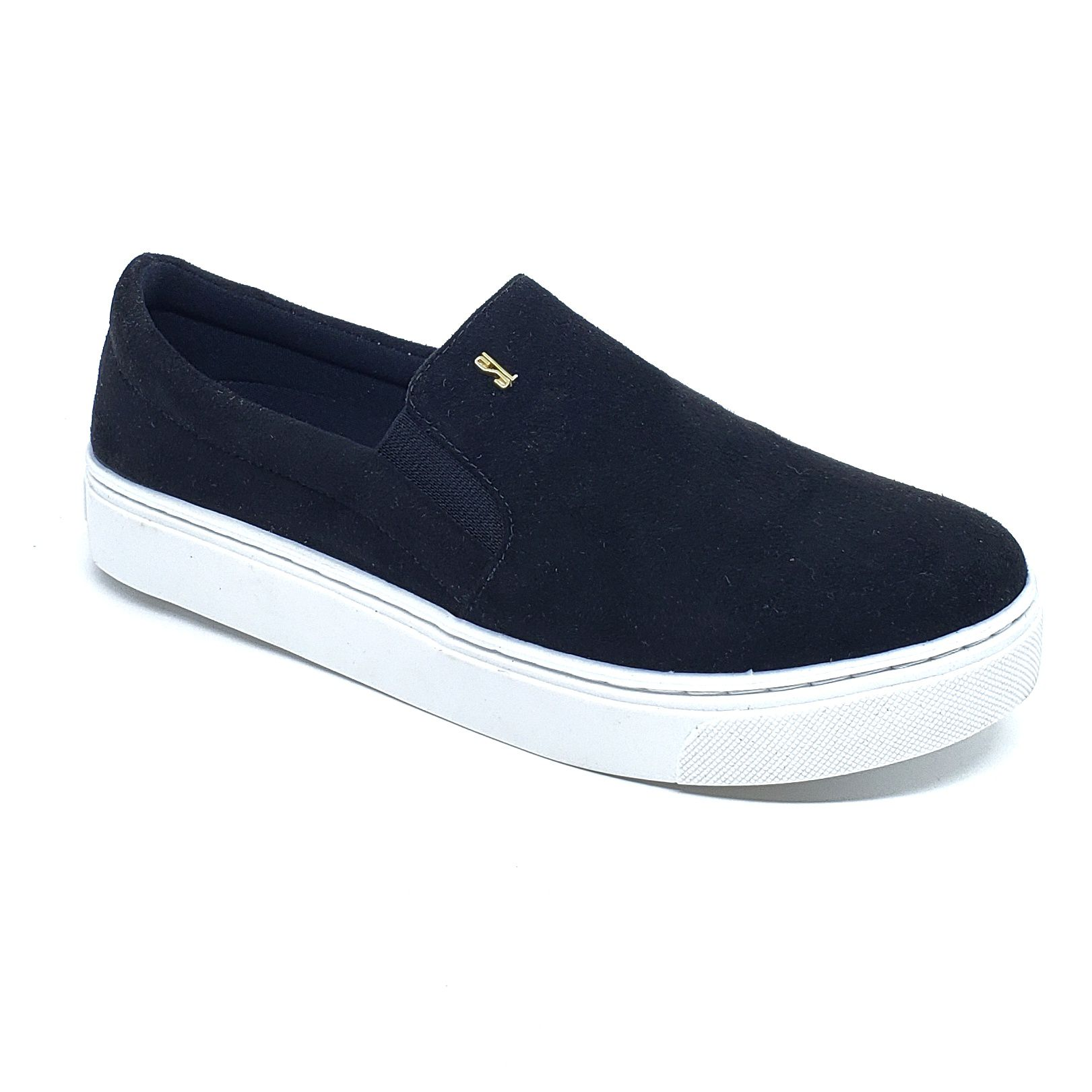 Santa Lolla Tênis Slip On Suede
