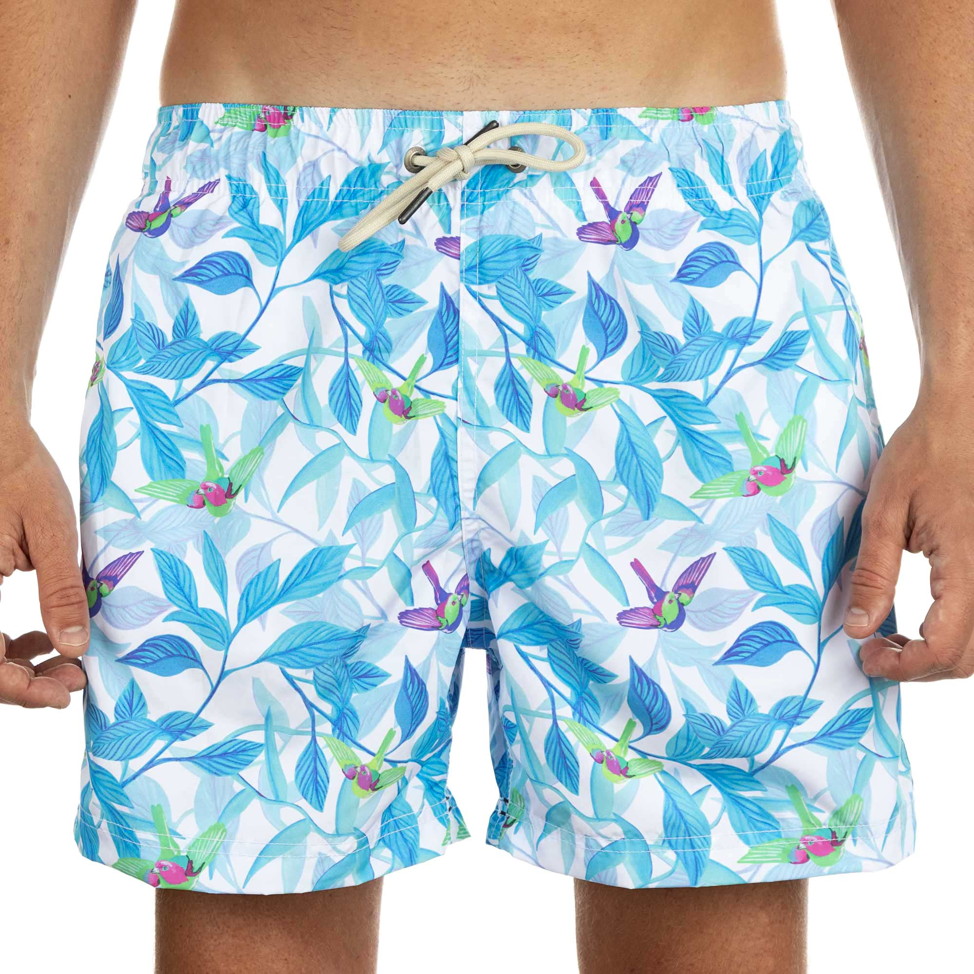 Shorts Co Shorts Especial Regular Blue Birds Adulto