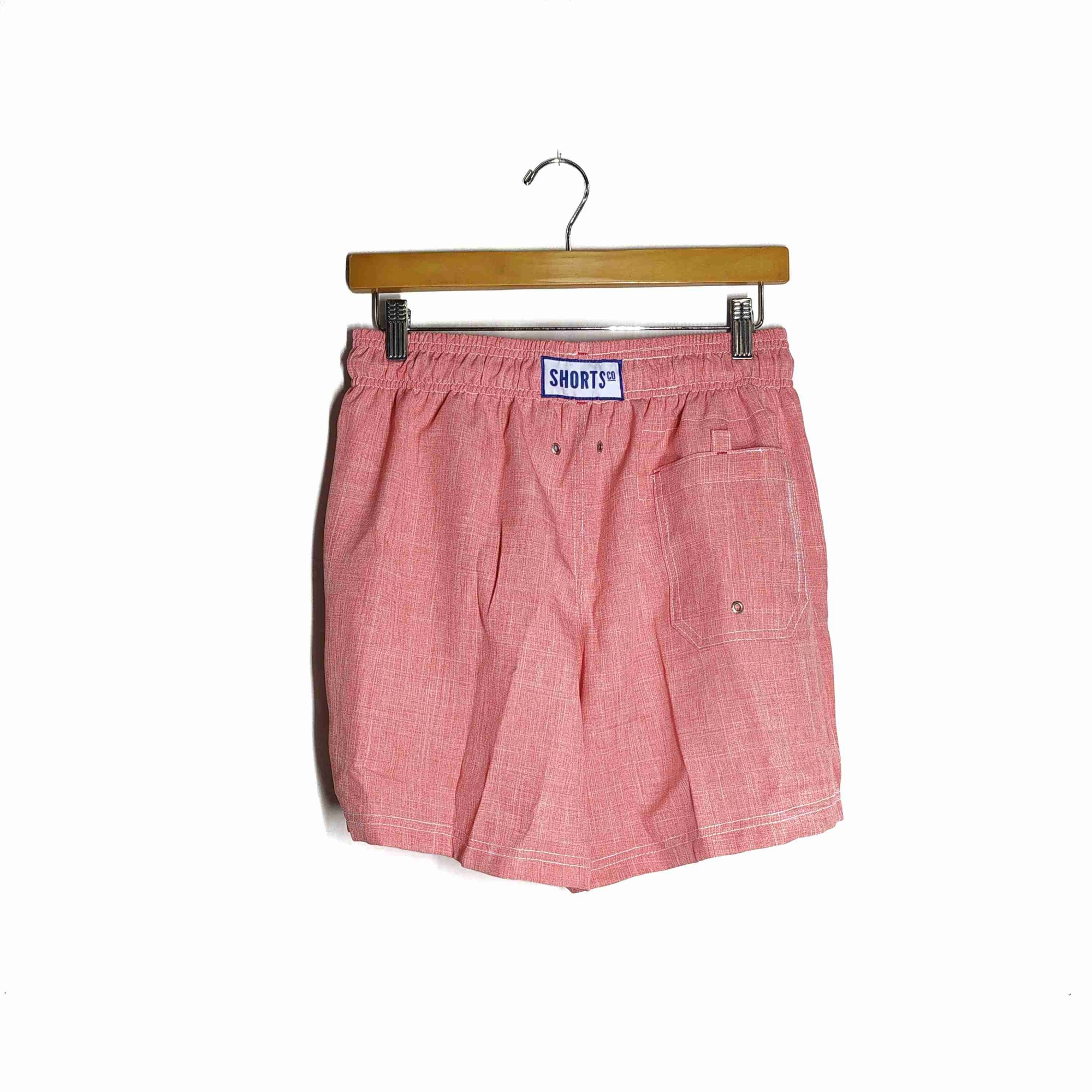 Shorts Co Shorts Oxford Goiaba Adulto