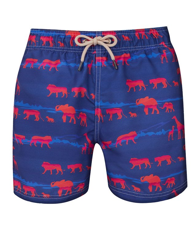 Shorts Co Shorts Regular Savana Azul Adulto