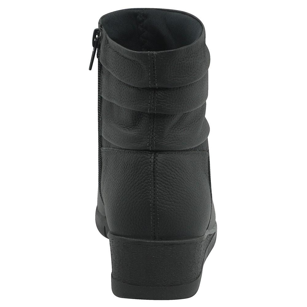 Usaflex Bota Anabela Extra Conforto Anatômica AD0502