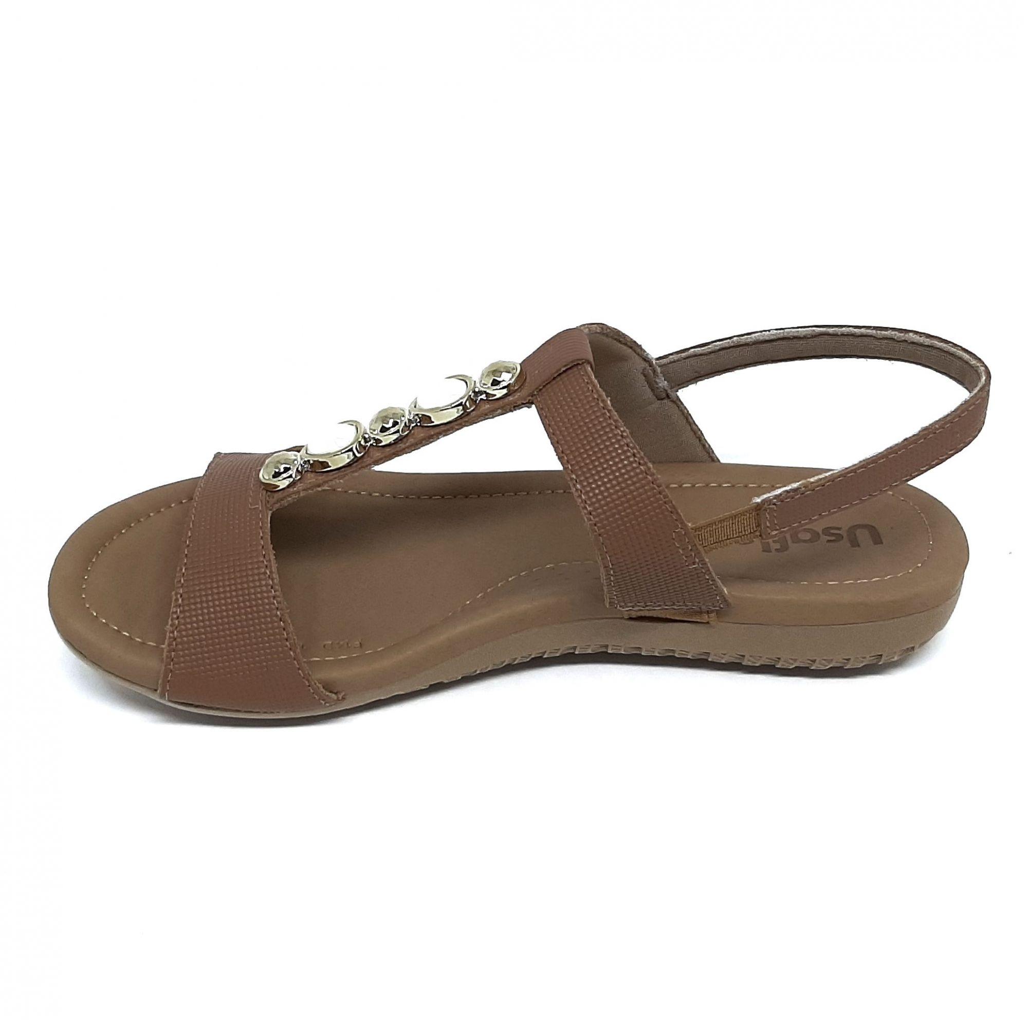 Usaflex Sandália Extra Conforto Anatômica AC7001