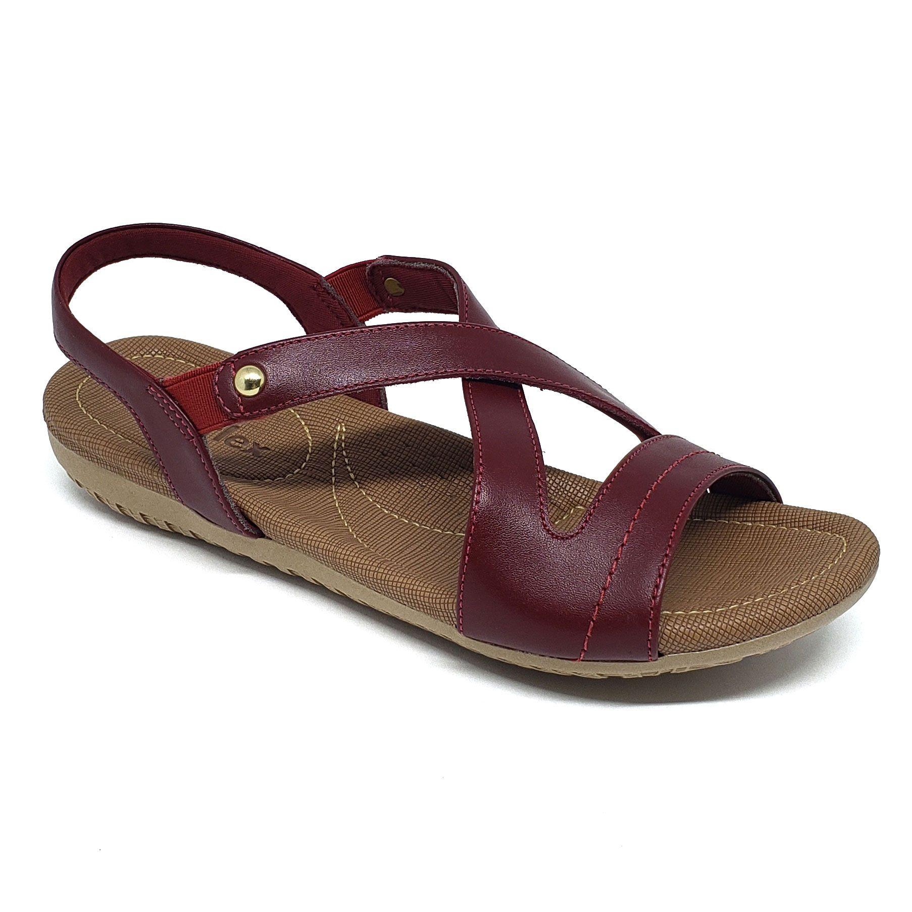 Usaflex Sandália Extra Conforto Anatômica R1804