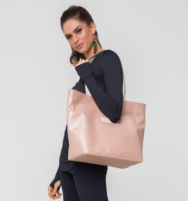 UV LINE Bolsa ShopBag Glitter Dupla Face