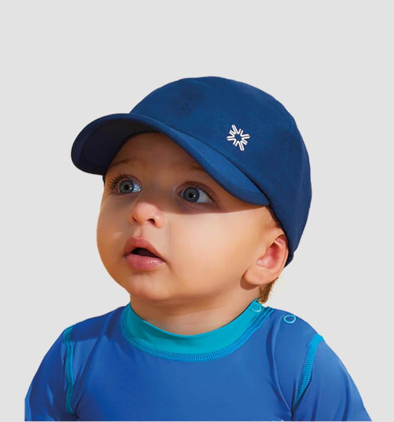 UV LINE Boné Baby Colors Infantil Marinho Proteção Solar