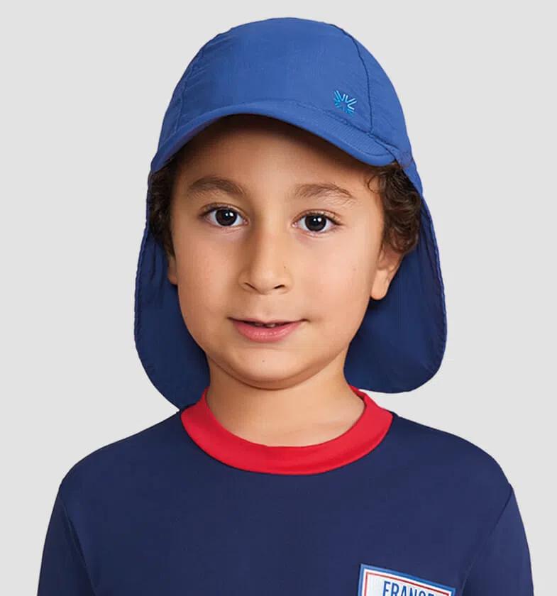 UV LINE Boné Legionário Basic Kids Infantil Marinho Proteção Solar