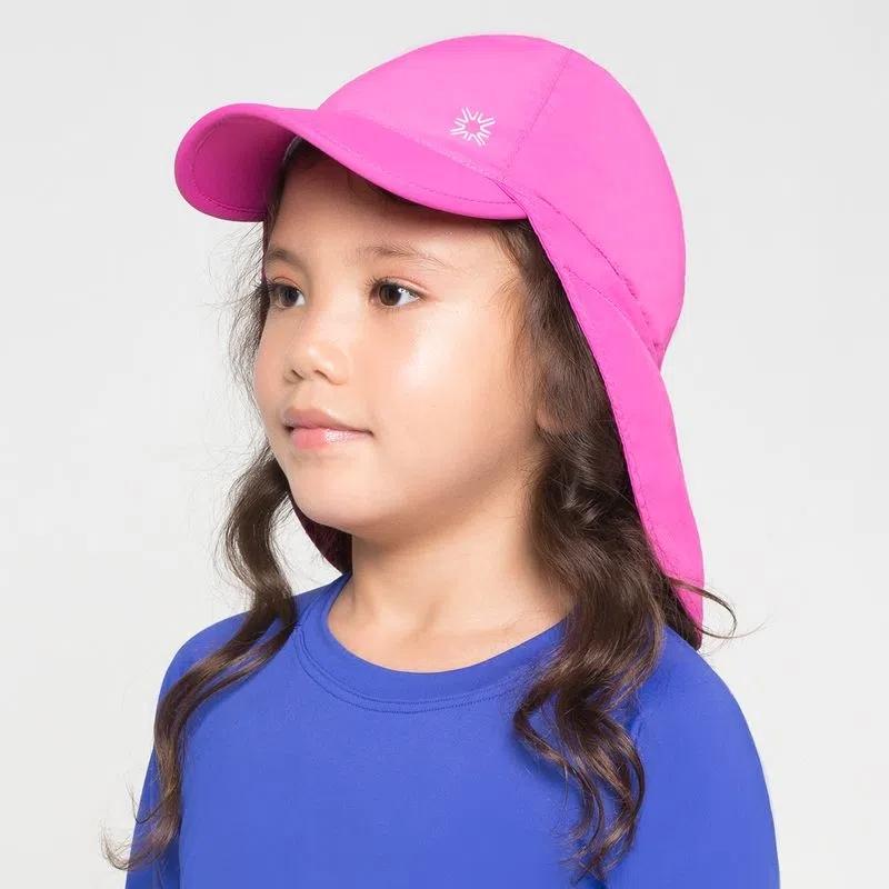 UV LINE Boné Legionário Basic Kids Infantil Pink Proteção Solar