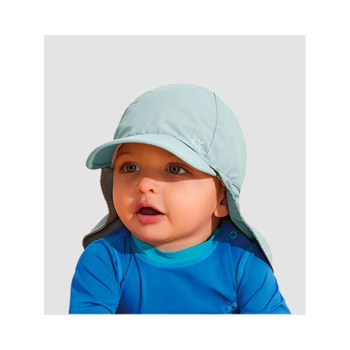 UV LINE Boné Legionário Basic Kids Infantil Verde Água Proteção Solar